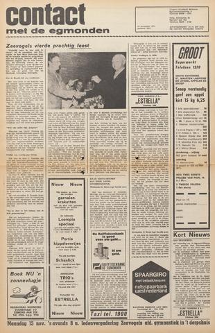 Contact met de Egmonden 1971-11-10