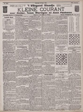 Vliegend blaadje : nieuws- en advertentiebode voor Den Helder 1914-03-28