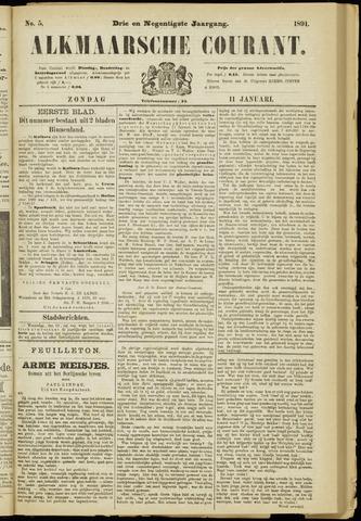 Alkmaarsche Courant 1891-01-11