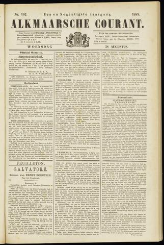 Alkmaarsche Courant 1889-08-28