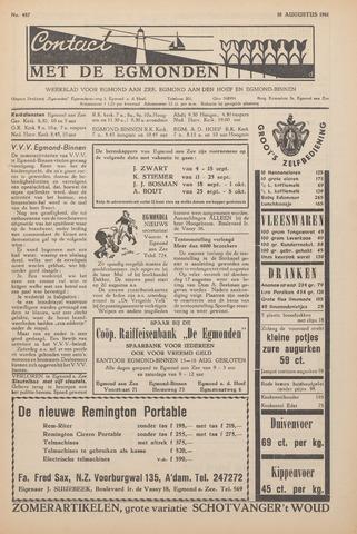 Contact met de Egmonden 1961-08-10