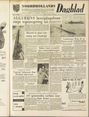 Noordhollands Dagblad : dagblad voor Alkmaar en omgeving 1958-09-20