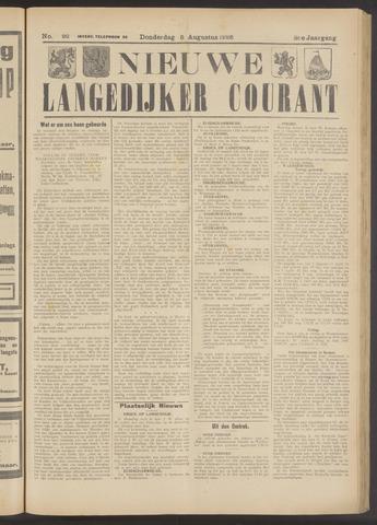 Nieuwe Langedijker Courant 1926-08-05