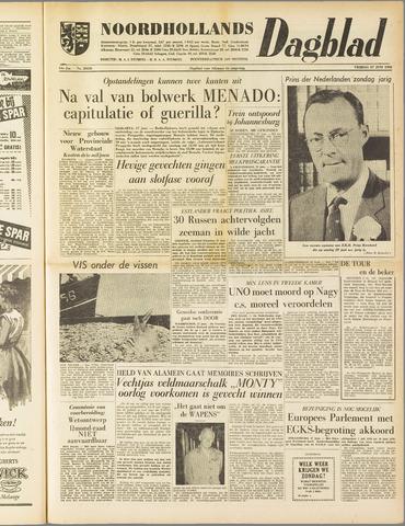 Noordhollands Dagblad : dagblad voor Alkmaar en omgeving 1958-06-27