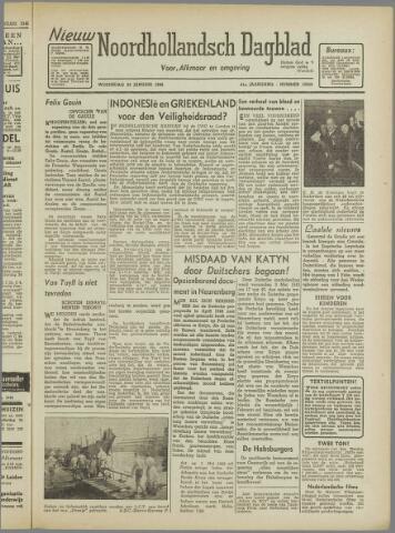 Nieuw Noordhollandsch Dagblad : voor Alkmaar en omgeving 1946-01-23