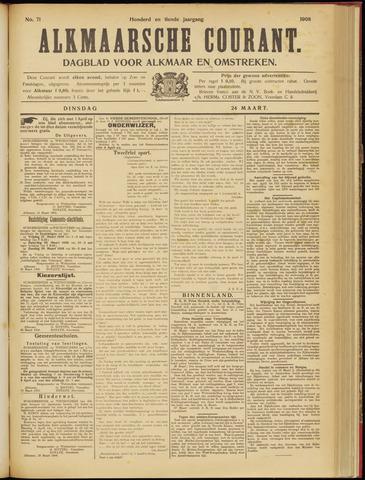 Alkmaarsche Courant 1908-03-24