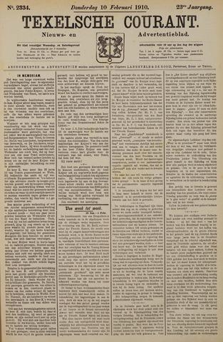 Texelsche Courant 1910-02-10