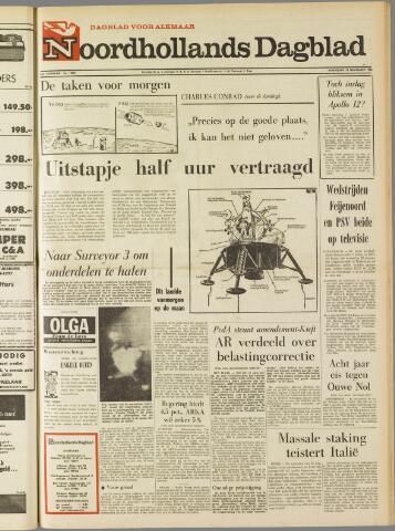 Noordhollands Dagblad : dagblad voor Alkmaar en omgeving 1969-11-19