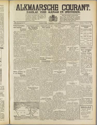 Alkmaarsche Courant 1941-02-08
