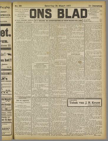 Ons Blad : katholiek nieuwsblad voor N-H 1917-03-31