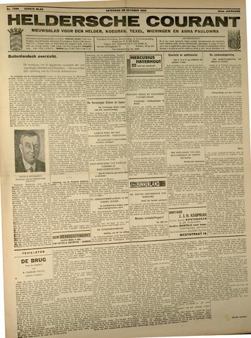 Heldersche Courant 1933-10-28