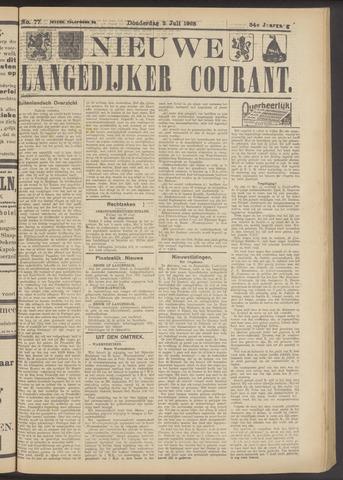 Nieuwe Langedijker Courant 1925-07-02