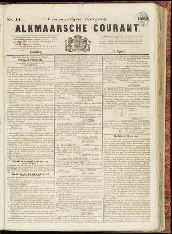 Alkmaarsche Courant 1862-04-06