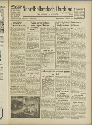Nieuw Noordhollandsch Dagblad : voor Alkmaar en omgeving 1946-03-02