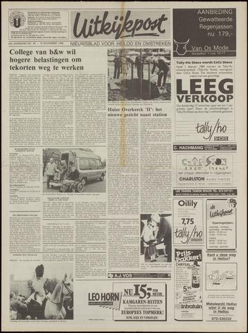 Uitkijkpost : nieuwsblad voor Heiloo e.o. 1988-11-16