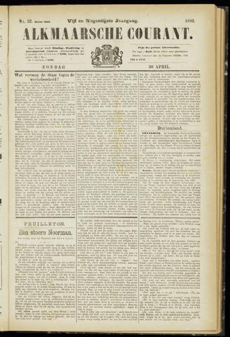 Alkmaarsche Courant 1893-04-30