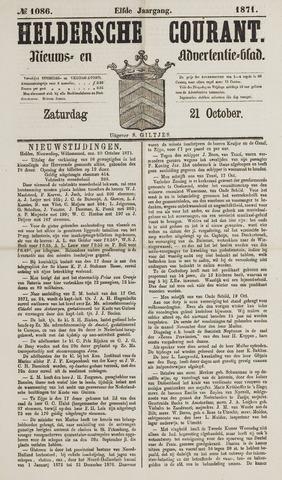 Heldersche Courant 1871-10-21
