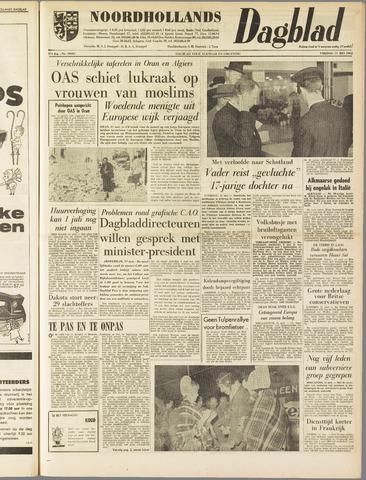 Noordhollands Dagblad : dagblad voor Alkmaar en omgeving 1962-05-11