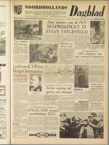 Noordhollands Dagblad : dagblad voor Alkmaar en omgeving 1961-04-07