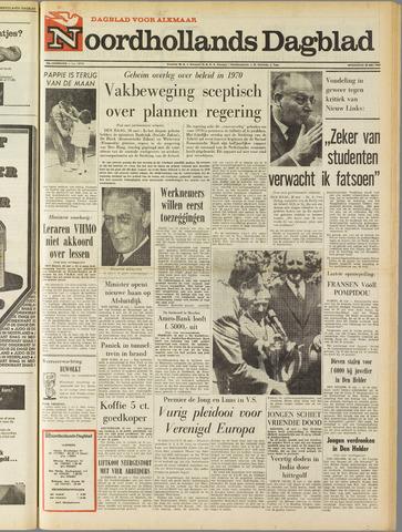 Noordhollands Dagblad : dagblad voor Alkmaar en omgeving 1969-05-28