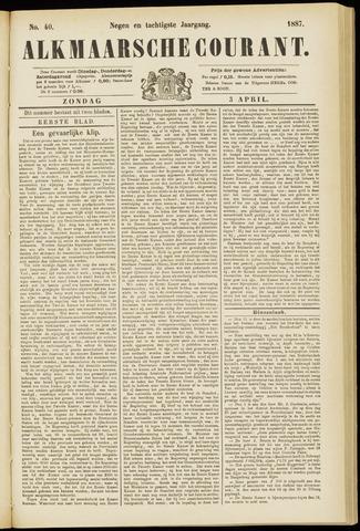 Alkmaarsche Courant 1887-04-03