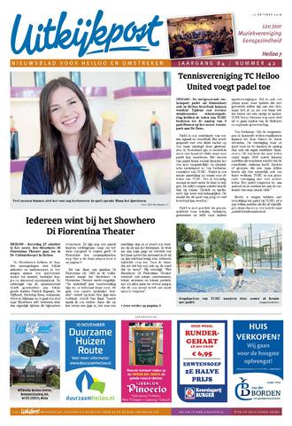 Uitkijkpost : nieuwsblad voor Heiloo e.o. 2018-10-17