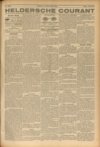 Heldersche Courant 1924-09-23