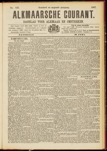 Alkmaarsche Courant 1907-06-22