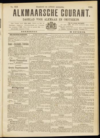 Alkmaarsche Courant 1906-10-25