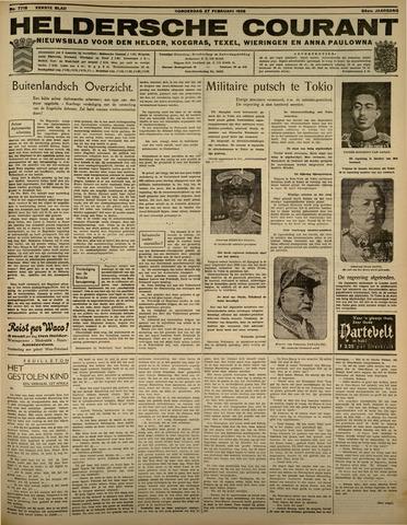 Heldersche Courant 1936-02-27