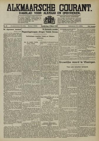 Alkmaarsche Courant 1937-03-04