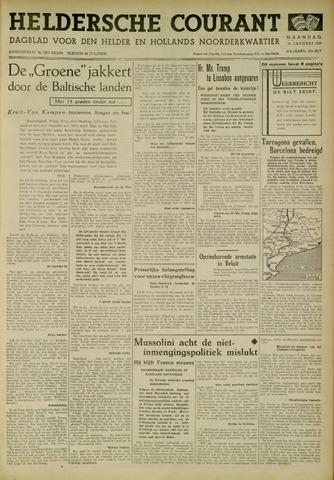 Heldersche Courant 1939-01-16