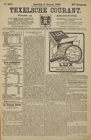 Texelsche Courant 1923-01-06