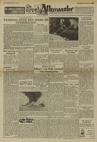 De Vrije Alkmaarder 1949-12-20