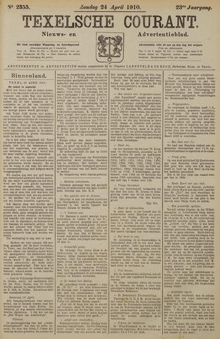 Texelsche Courant 1910-04-24