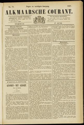 Alkmaarsche Courant 1887-06-17