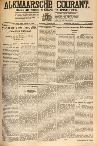 Alkmaarsche Courant 1939-08-17
