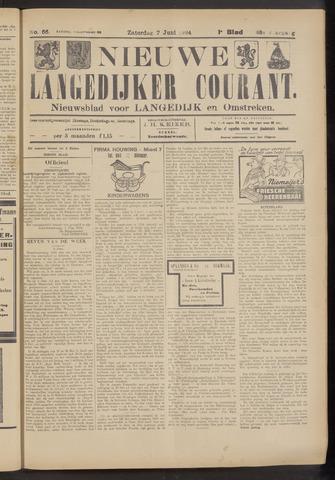 Nieuwe Langedijker Courant 1924-06-07