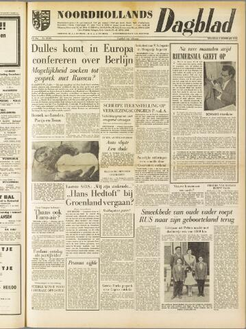 Noordhollands Dagblad : dagblad voor Alkmaar en omgeving 1959-02-02