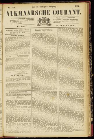 Alkmaarsche Courant 1884-09-14