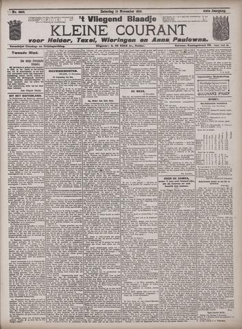 Vliegend blaadje : nieuws- en advertentiebode voor Den Helder 1913-11-15