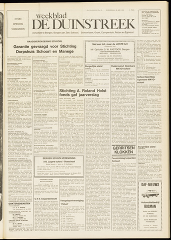 De Duinstreek 1969-05-29