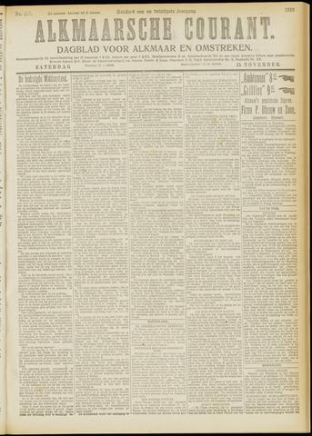 Alkmaarsche Courant 1919-11-15