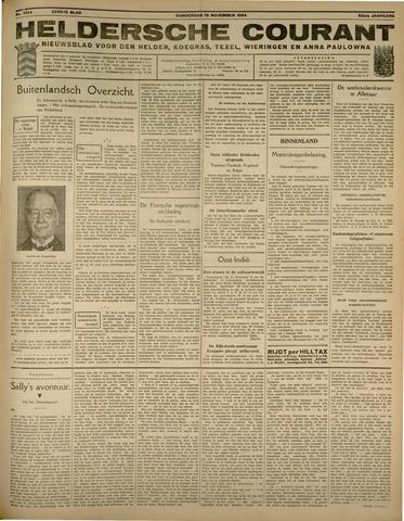 Heldersche Courant 1934-11-15