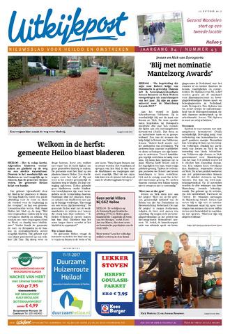 Uitkijkpost : nieuwsblad voor Heiloo e.o. 2017-10-25