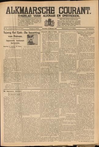 Alkmaarsche Courant 1939-02-13