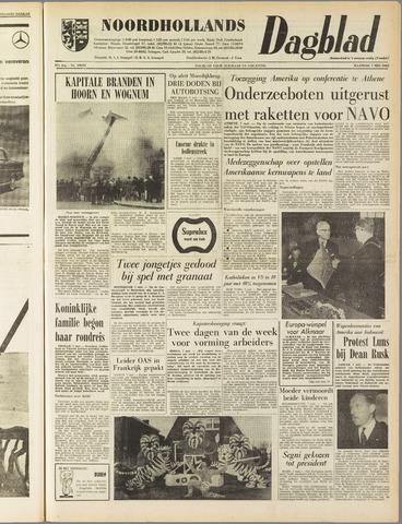Noordhollands Dagblad : dagblad voor Alkmaar en omgeving 1962-05-07