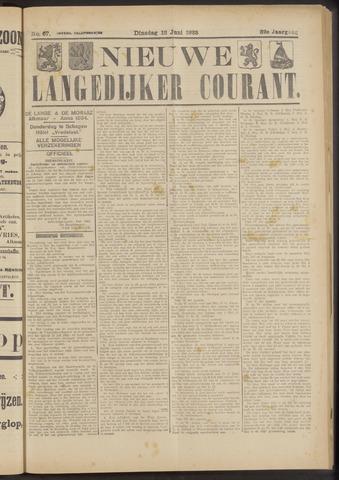 Nieuwe Langedijker Courant 1923-06-12