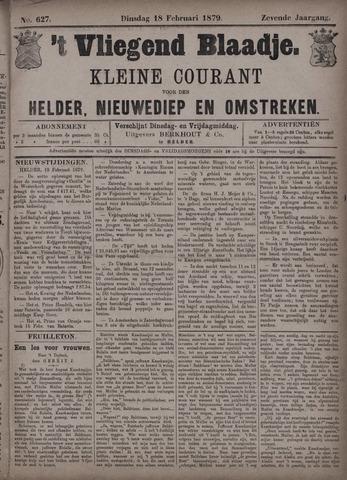 Vliegend blaadje : nieuws- en advertentiebode voor Den Helder 1879-02-18