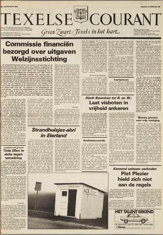 Texelsche Courant 1982-02-19